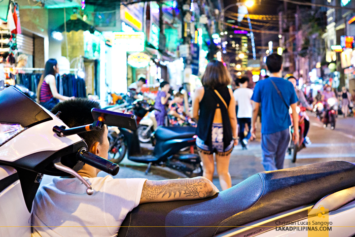 Ho Chi Minh Bui Vien Street