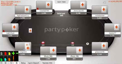PartyPoker and your colored notes should be visible on the players