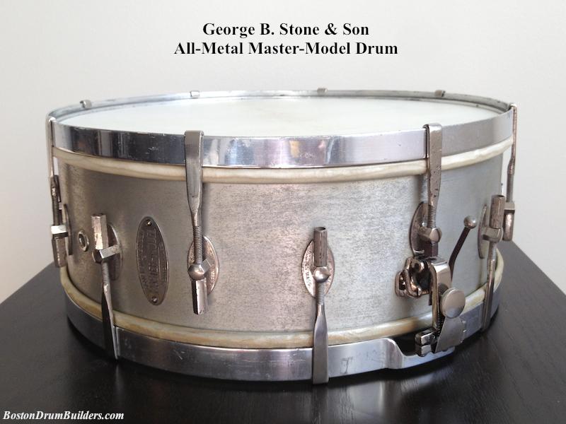 Lee's Geo. B. Stone All Metal-Master Model-Drum