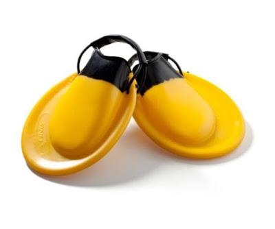 fins mirip sepatu