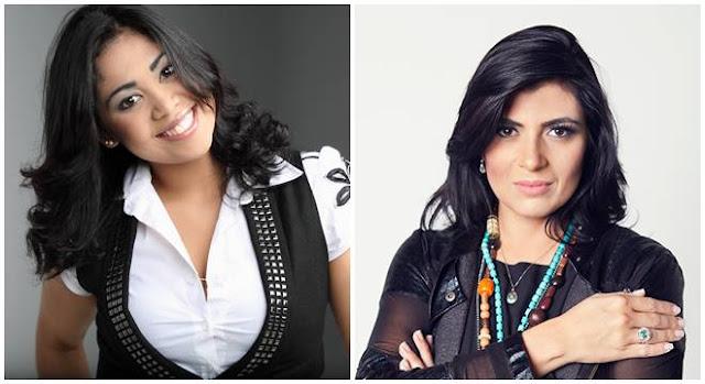 Gisele Nascimento e Fernanda Brum