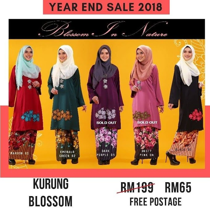 Year End Sale 2018 ~ Blossom In Nature dewasa