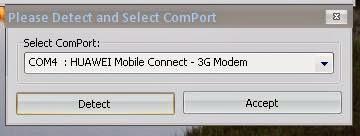 modem detecte par huawei modem code writter