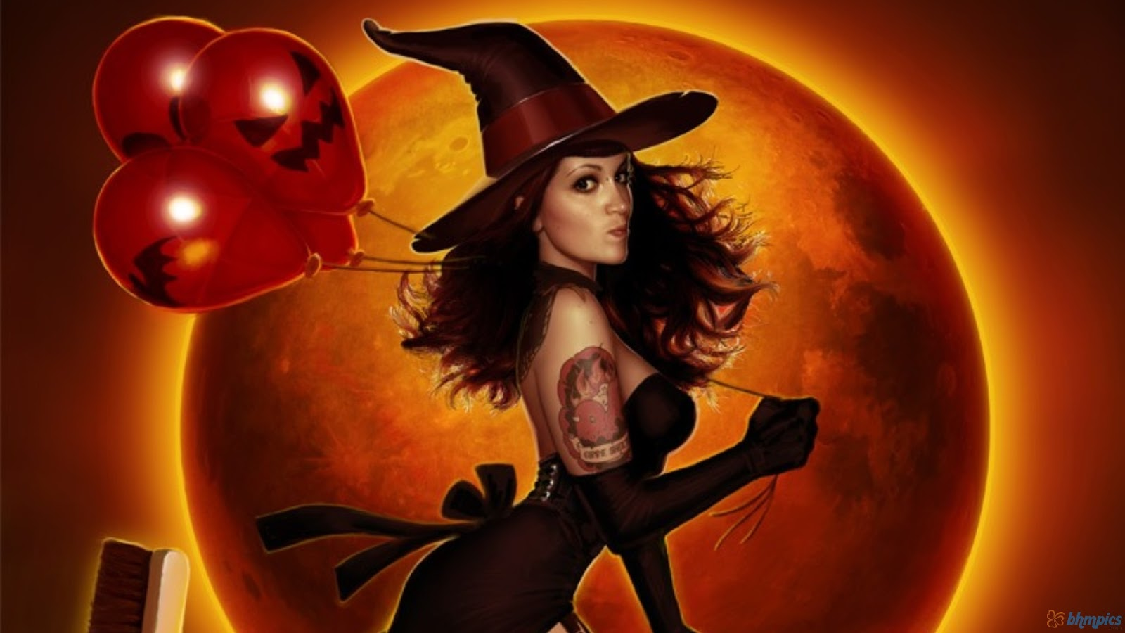 hot halloween wallpapers - photo #2