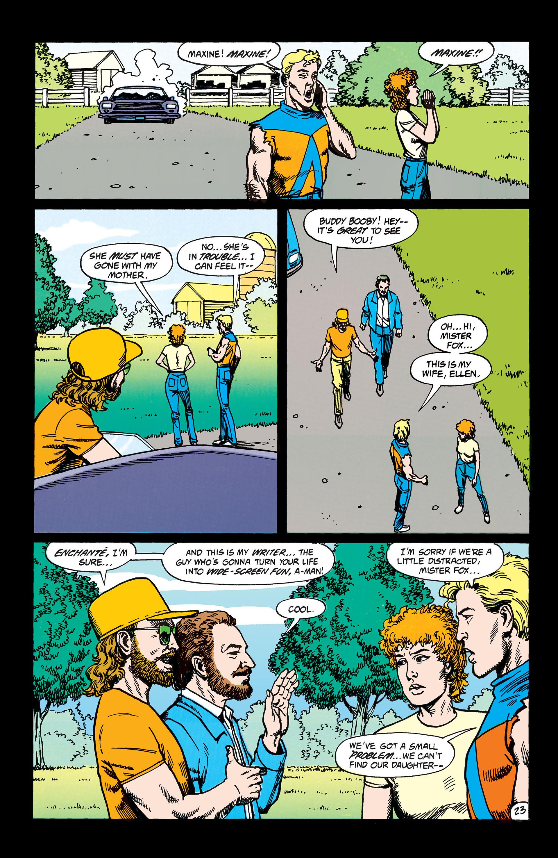 Read online Animal Man (1988) comic -  Issue #45 - 24