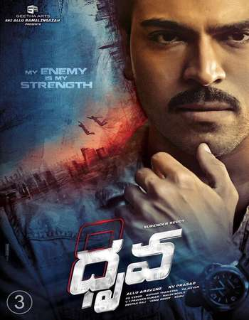 Dhruva 2016 UNCUT Hindi Dual Audio HDRip Full Mobile Movie Download