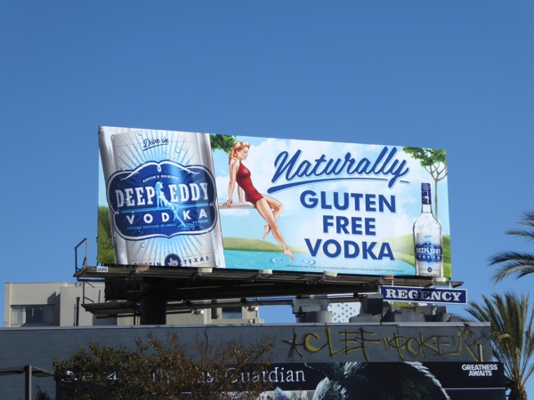 Deep Eddy Naturally Gluten Free Vodka billboard