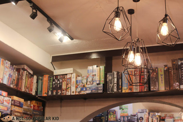 Interior of Ludo Board Game Bar and Cafe