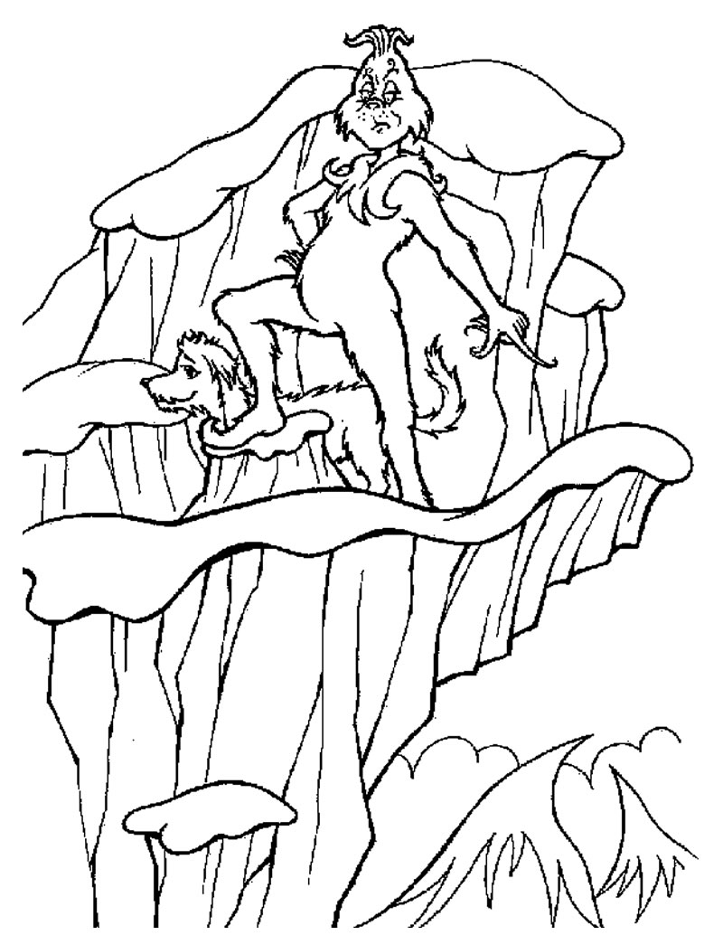 whoville coloring pages - photo#6