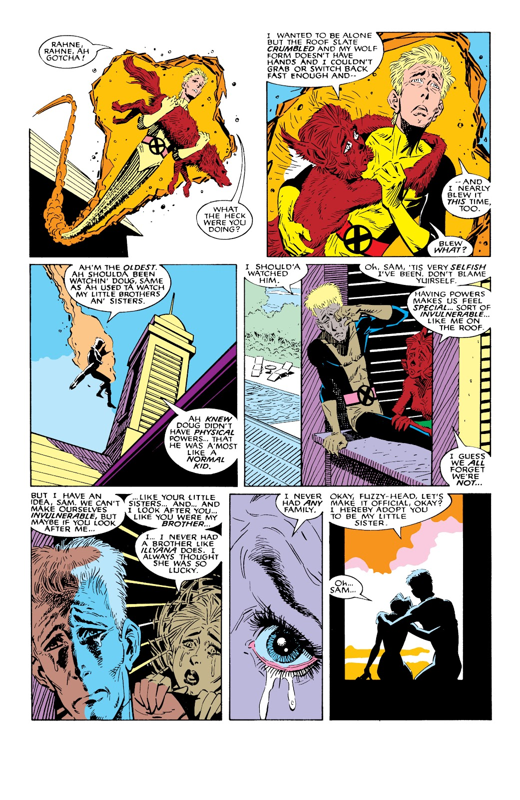 Read online X-Men Milestones: Fall of the Mutants comic -  Issue # TPB (Part 2) - 69