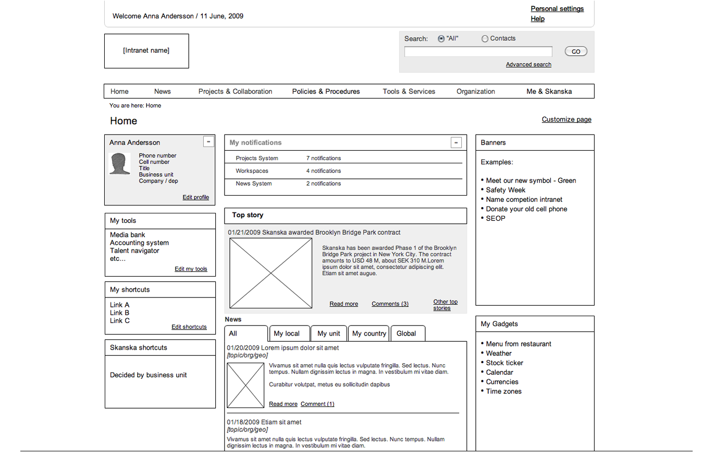 website wireframe diagram example hei distributor design 5405 web communications thurs 2 6
