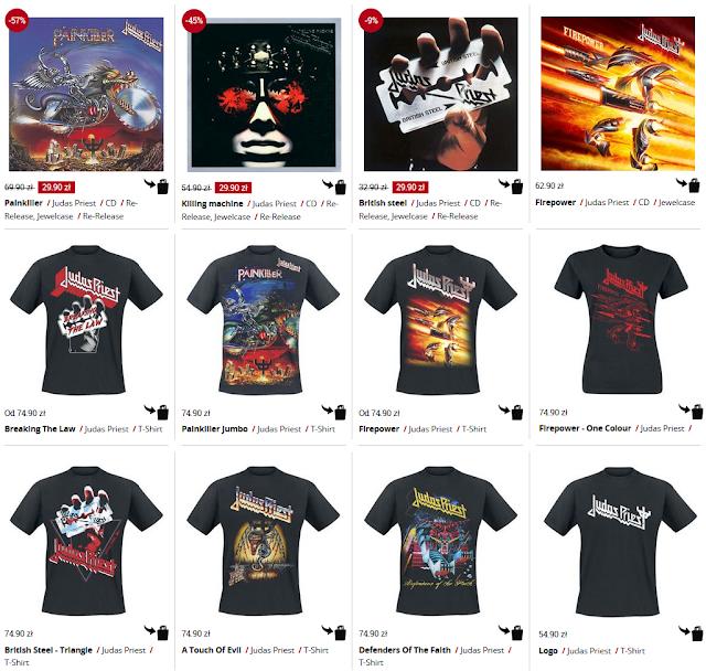Judas Priest koszulki