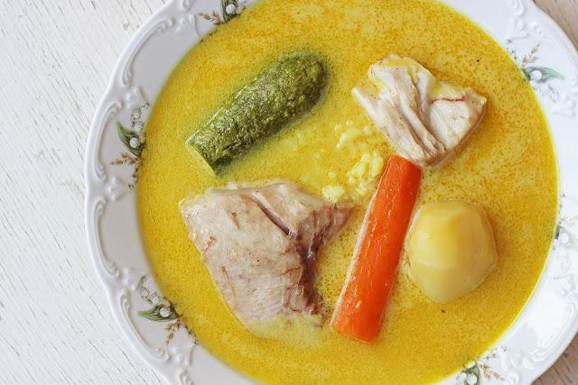 Συνταγή για Ψαρόσουπα Αυγολέμονο