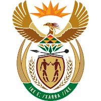 Logo Gambar Lambang Simbol Negara Afrika Selatan PNG JPG ukuran 200 px