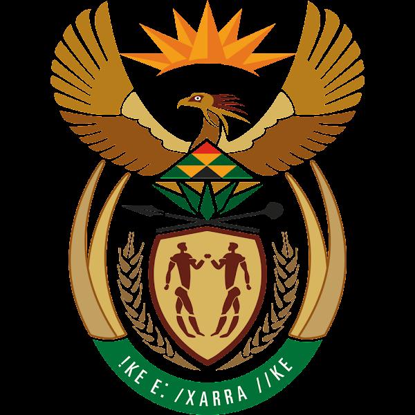 Logo Gambar Lambang Simbol Negara Afrika Selatan PNG JPG ukuran 600 px
