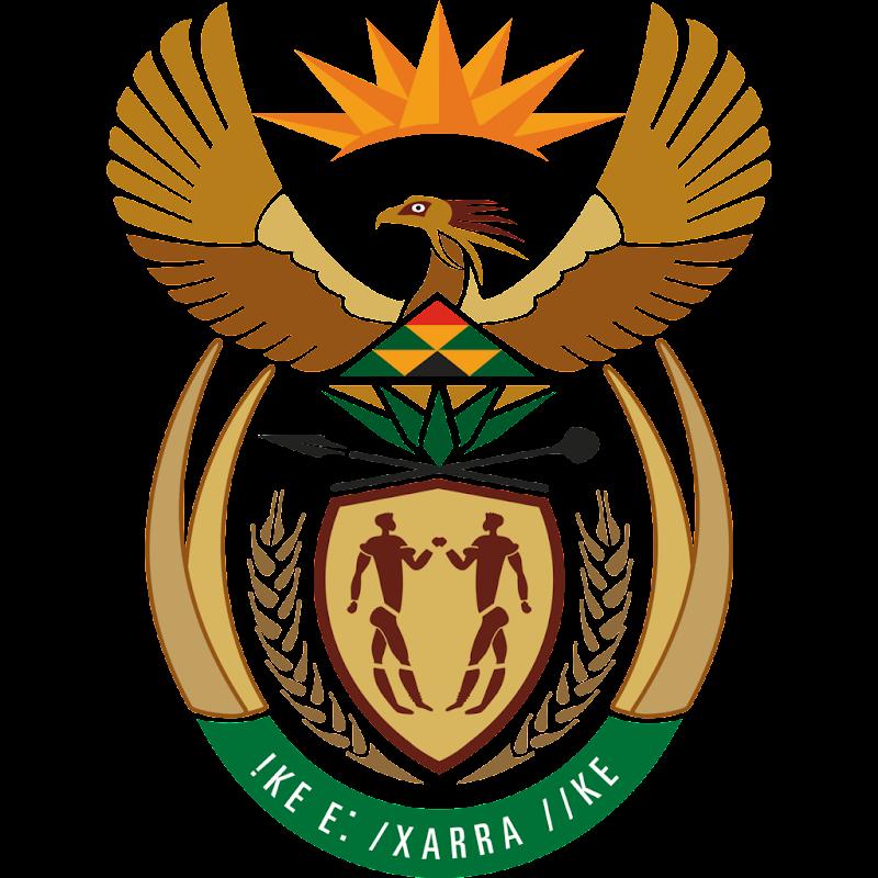 Logo Gambar Lambang Simbol Negara Afrika Selatan PNG JPG ukuran 800 px