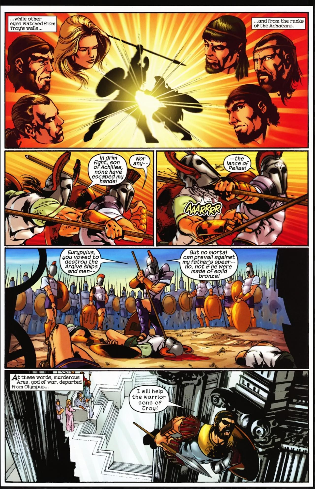 Read online Trojan War comic -  Issue #4 - 24