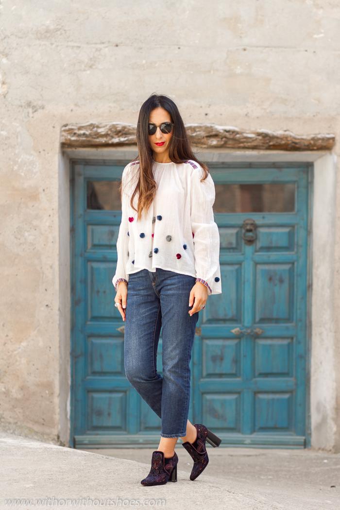 BLoggers de moda de Valencia con estilo y outfits con zapatos bonitos