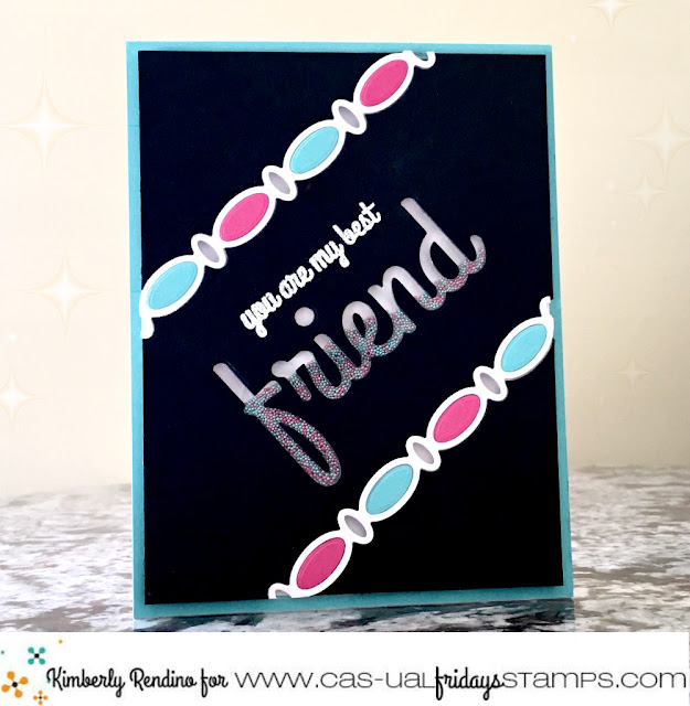 friend shaker card | cas-ual fridays | kimpletekreativity.blogspot.com | microbeads