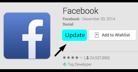 Facebook App Update Download ~ TechOpaedia