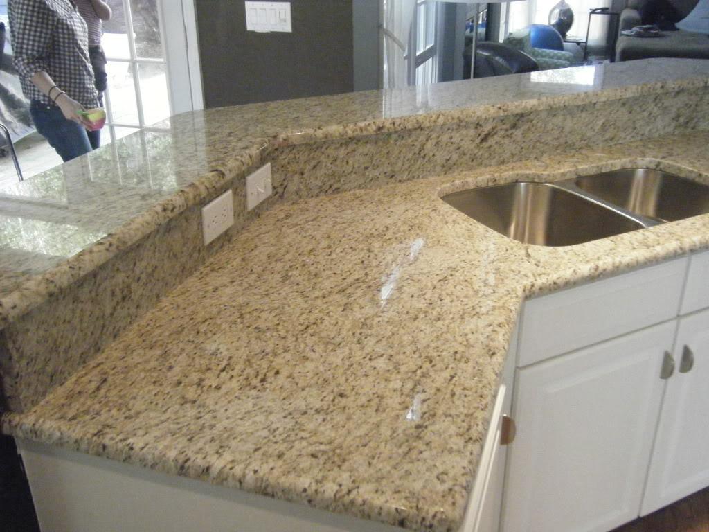 Granite Kitchen Counters Sink Sprayer Coastal Countertops June 2011