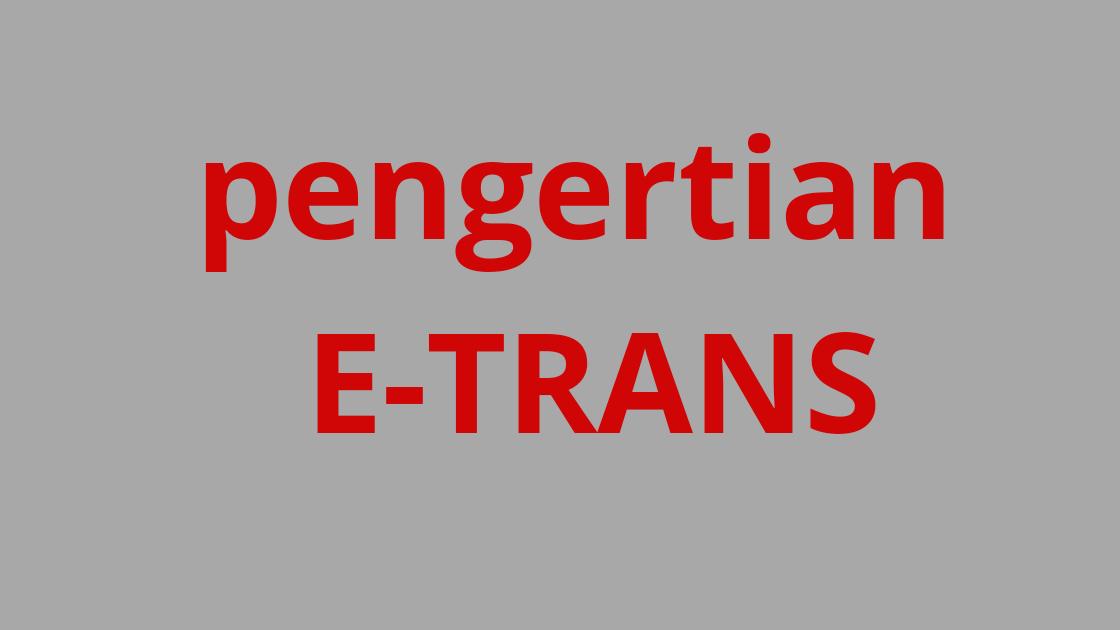 Alfamaet, edc, e-trans, bisnis alfamart Pengertian  E-Trans - Makalah Alfamart
