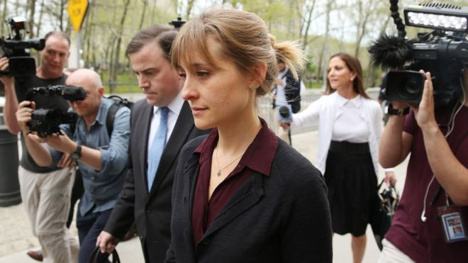 TV actress, Allison Mack pleads guilty in group's sex-trafficking case