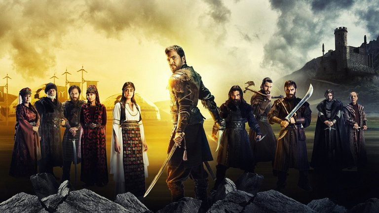 "A promotional image for the Turkish television series ""Dirilis  Ertugrul.""  Credit TRT 1 TV 6dee6235ca"