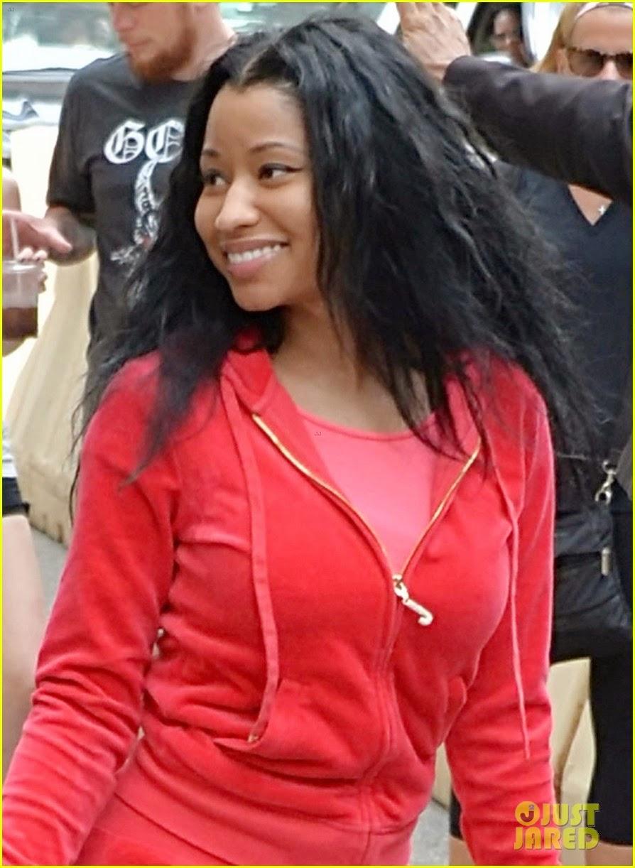 Nicki Minaj Steps Out Make Up Free And Looks Stunning