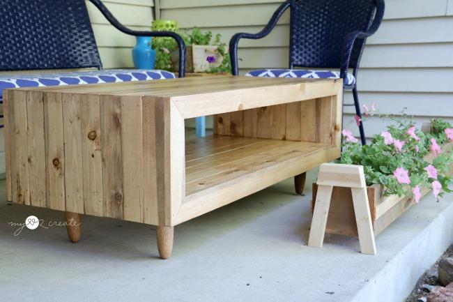 Reclaimed Wood Coffee Table, MyLove2Create