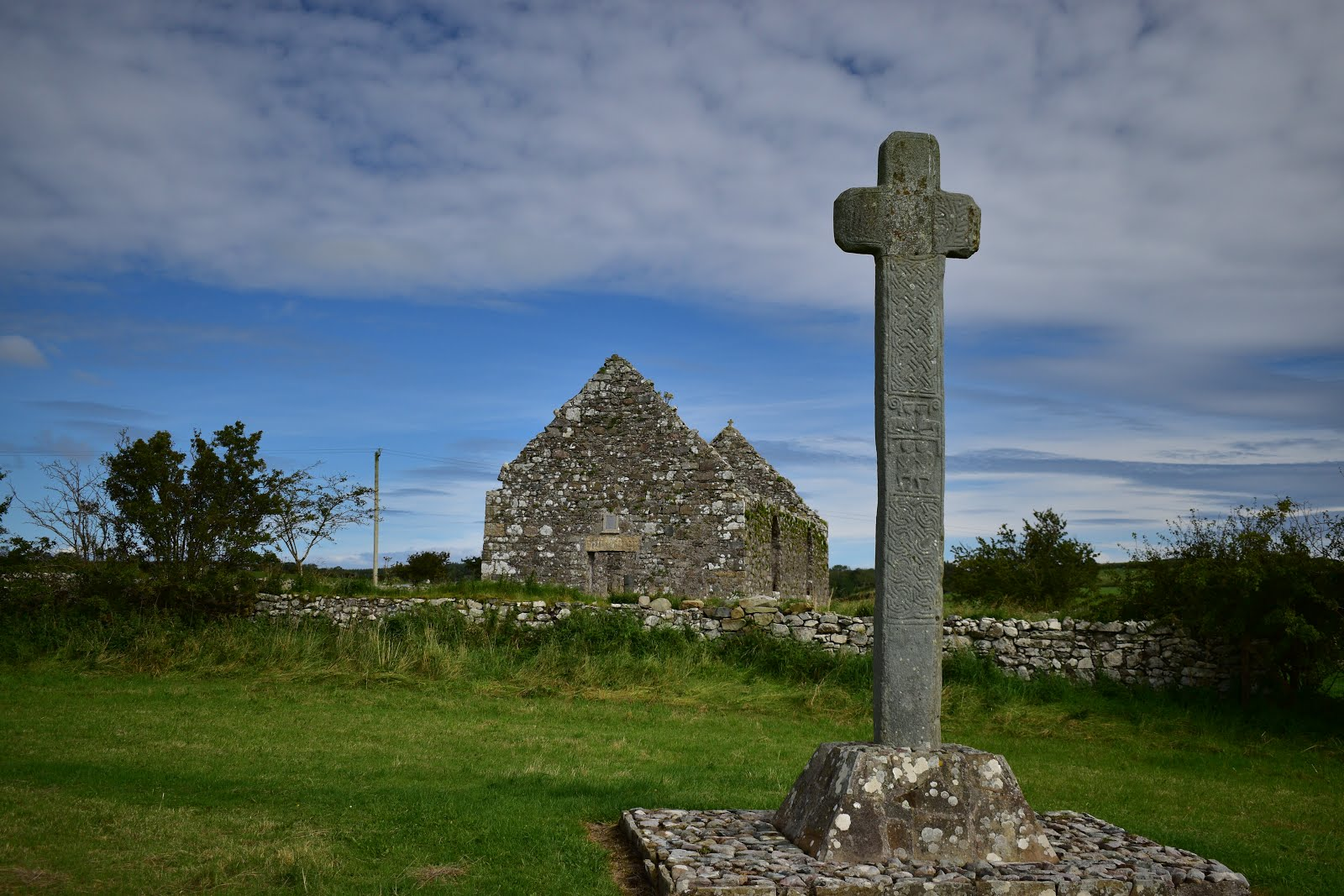Clonca High Cross