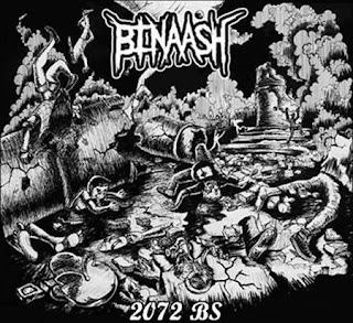 "Binaash – ""2072 BS"" (EP, 2016)"