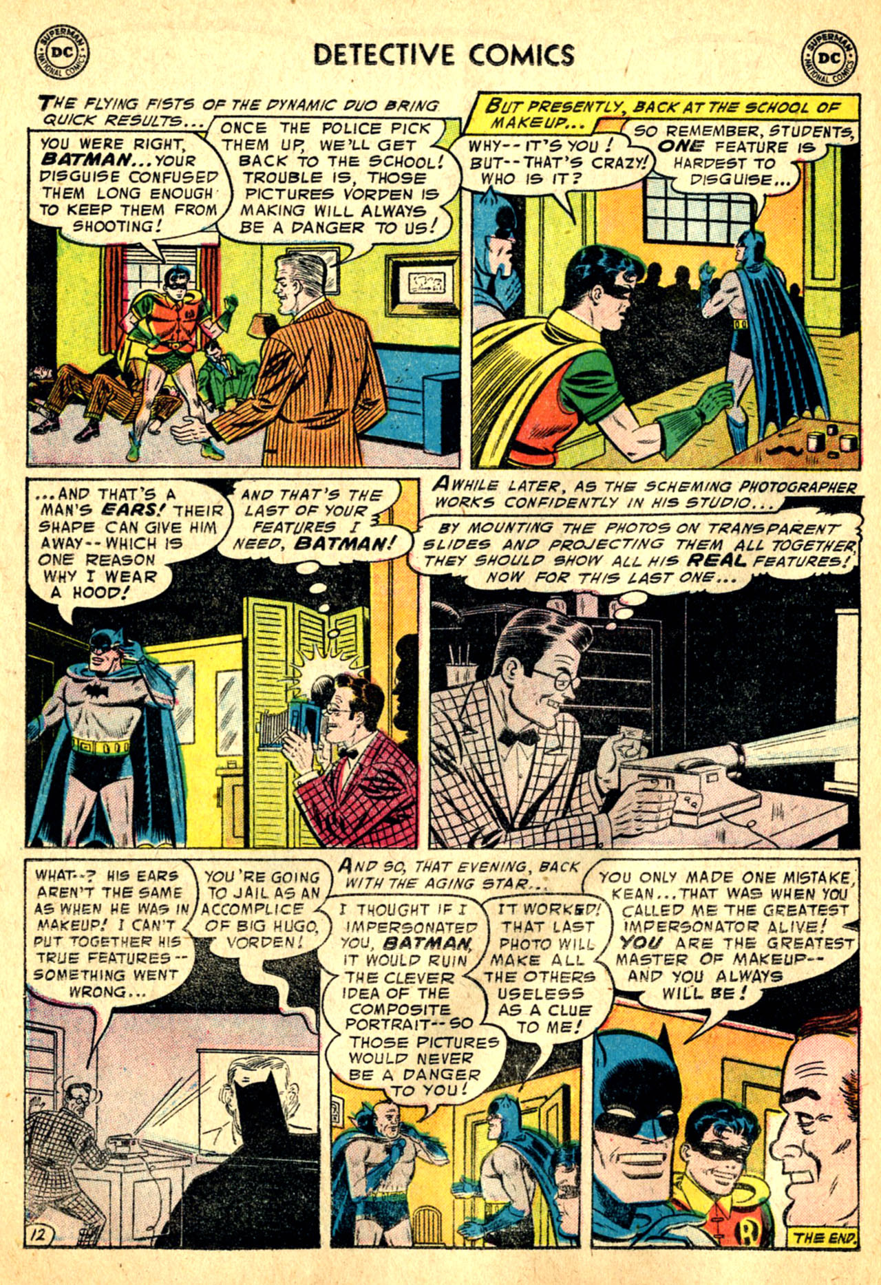 Read online Detective Comics (1937) comic -  Issue #227 - 14