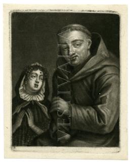 En éste se observa a un monje que se masturba mientras atiende a la confesión de una mujer, probablemente una cortesana, que luce un lunar en su frente