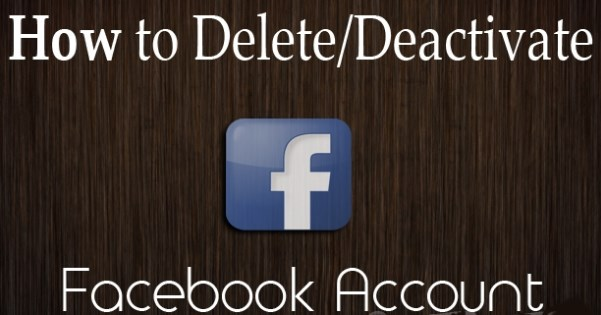 How to Deactivate and Permanently Delete a Facebook Account