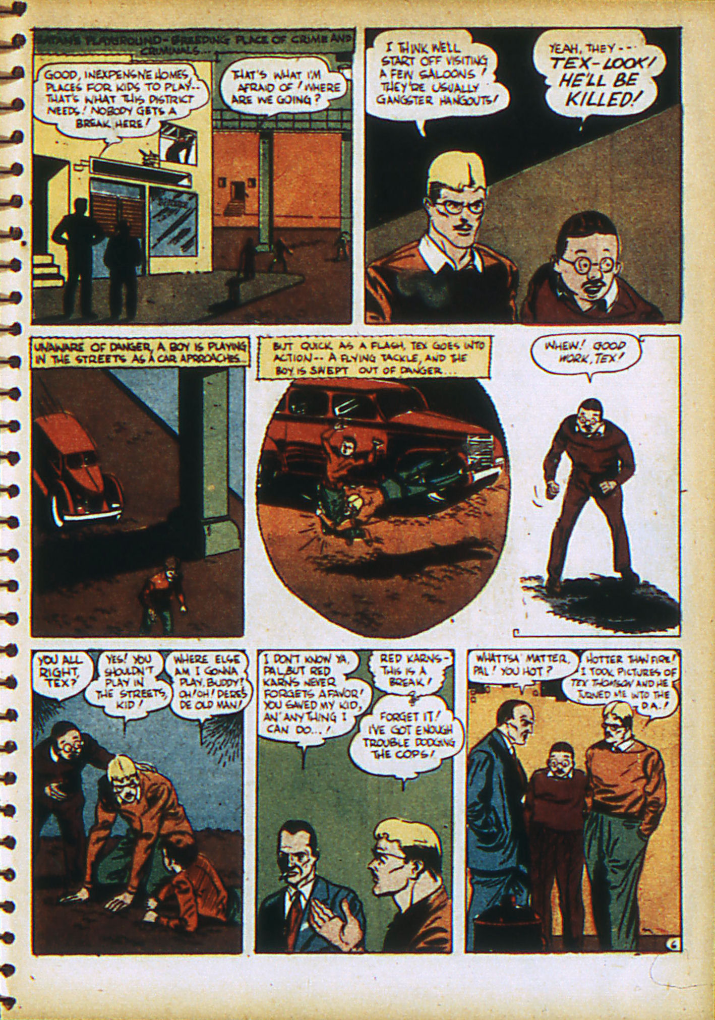 Read online Action Comics (1938) comic -  Issue #28 - 42