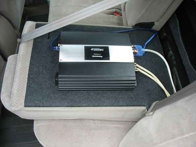 how to safely mount a car amplifier in your vehicle how to install car audio systems. Black Bedroom Furniture Sets. Home Design Ideas