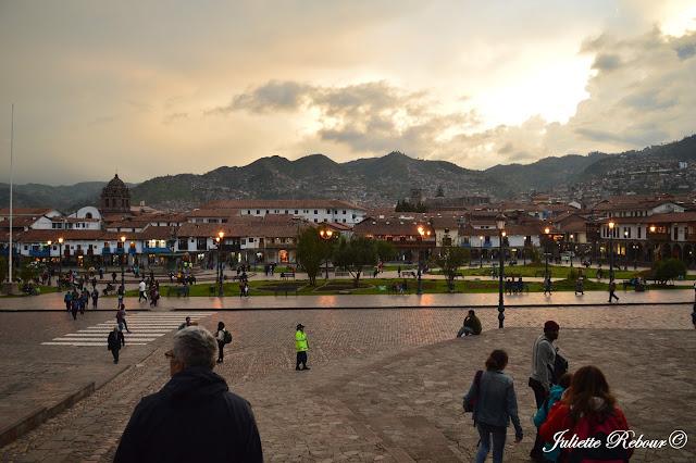 Plaza de Arma à Cusco