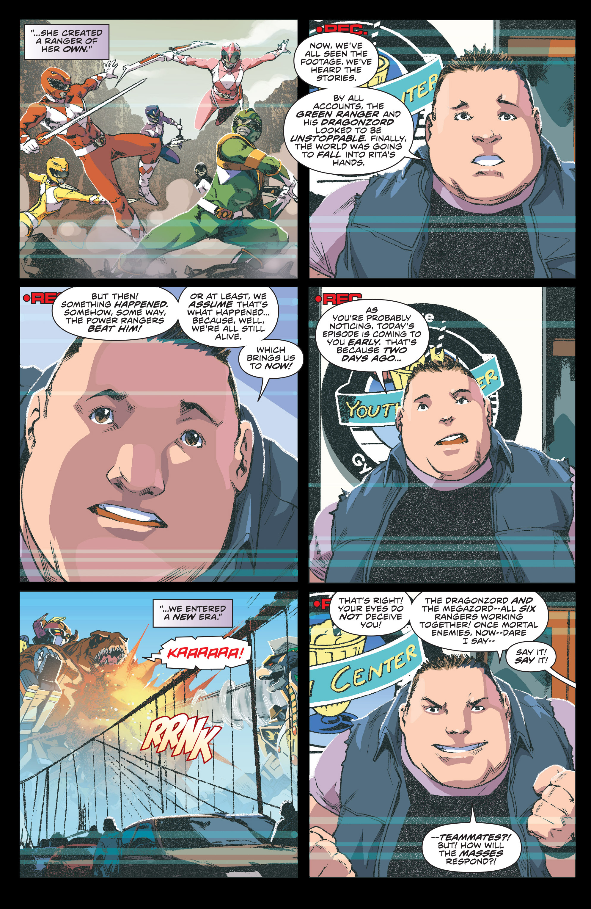 Read online Mighty Morphin Power Rangers comic -  Issue #1 - 6