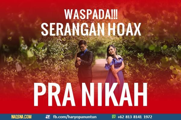 Serangan Hoax Pra Nikah