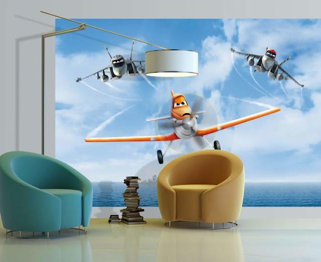 lasten tapetti Lasten Disney Planes