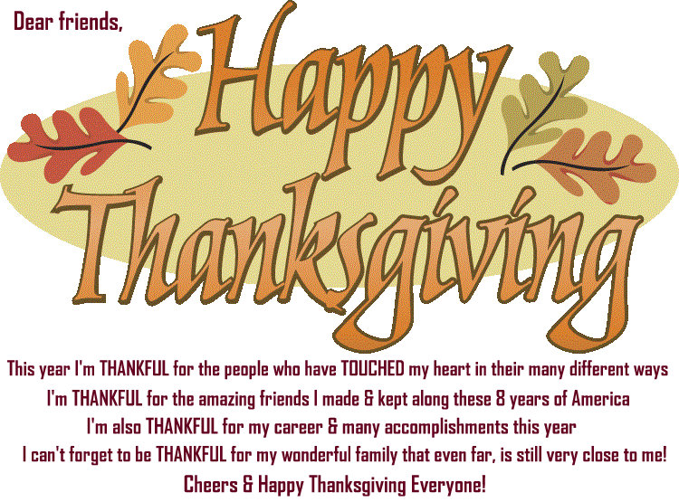 Fabulous Channel By Giselle Claudino Happy Thanksgiving My Dear