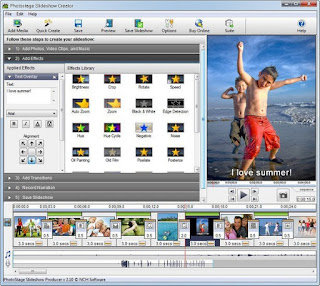 NCH PhotoStage Slideshow Producer Professional 4.18 Beta Terbaru Full Version