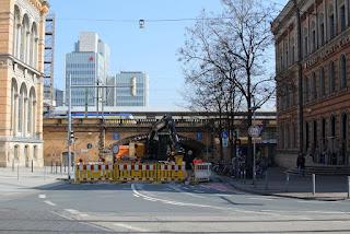 Mitte: Sperrung der Fernroder Straße wegen Bauarbeiten