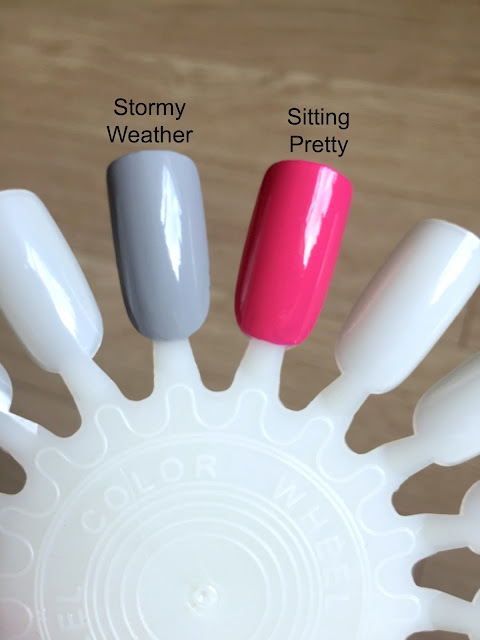 Swatches Of Roxanne Campbell Sitting Pretty And Stormy Weather