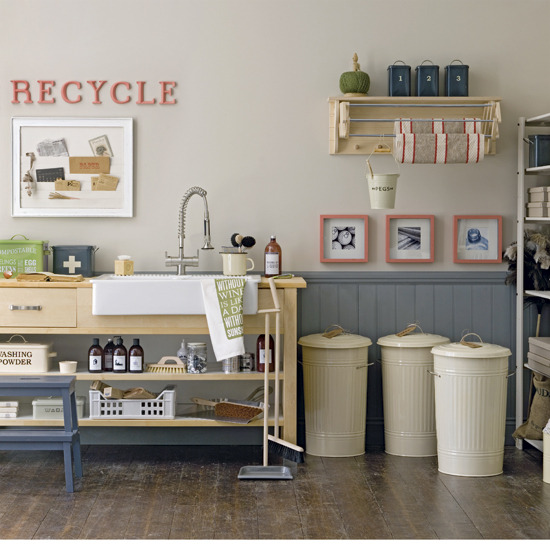 18 Easy Budget Decorating Ideas That Won T Break The Bank: New Home Interior Design: Refresh Your Utility Room On A