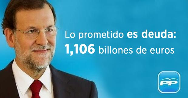 Deuda pública española asciende al 100,5 por ciento del PIB
