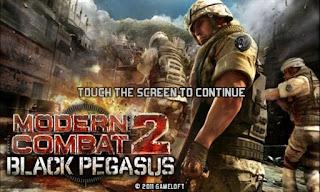 Modern Combat 2 : Black Pegasus HD