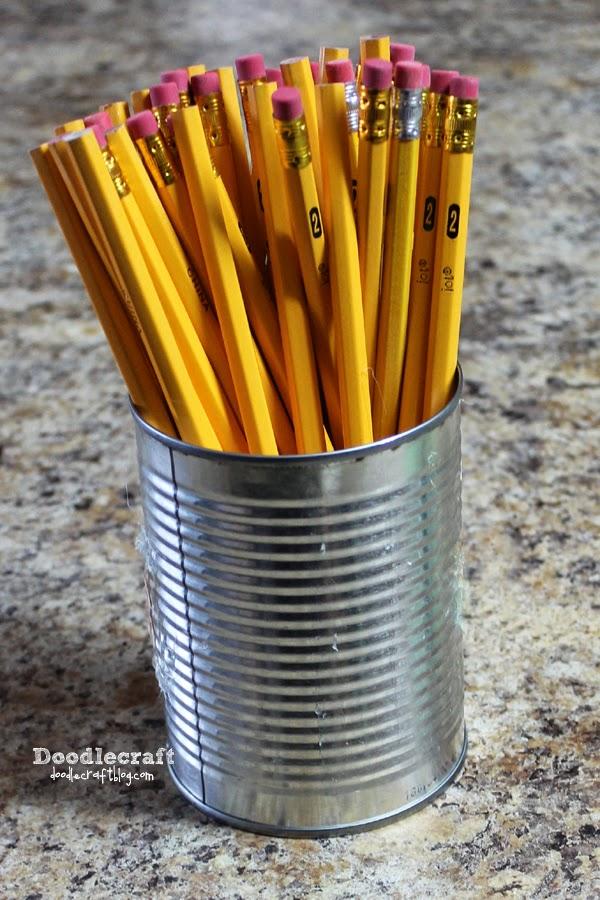Doodlecraft School Supplies Pencil Vase