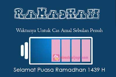 Ucapan Selamat Ramadhan 2019 1440 H Terbaru